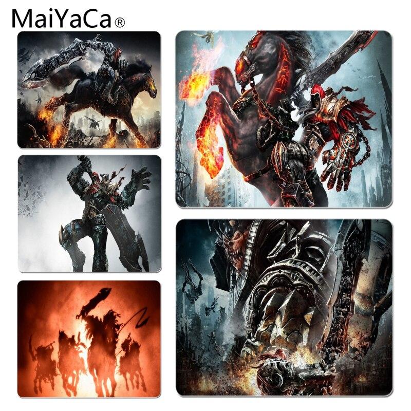 Maiyaca Нескользящие PC darksiders коврик для мыши геймер играть коврики Размеры для 18x22 см 25x29 см резиновая Мышь коврики