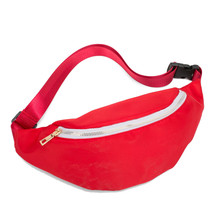 Fashion 4 colour Waist Bags Women Black White Fanny Pack Female Belt Bag Chain  Packs Laser Ches 626