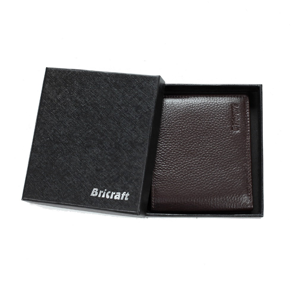ФОТО FancyStyle Excellent  RFID SAFE Men's Genuine Leather Money Clip Front Pocket Wallet