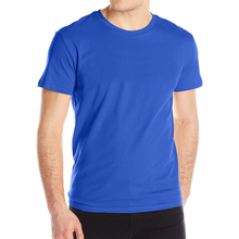 Basic Cotton Round Neck Men's T-Shirt