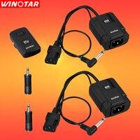 GODOX DM 16 Wireless Trigger Transmitter & 2X Receivers for Studio Strobe Flash For Canon Nikon Olympus Fuji Pentax sony Cameras
