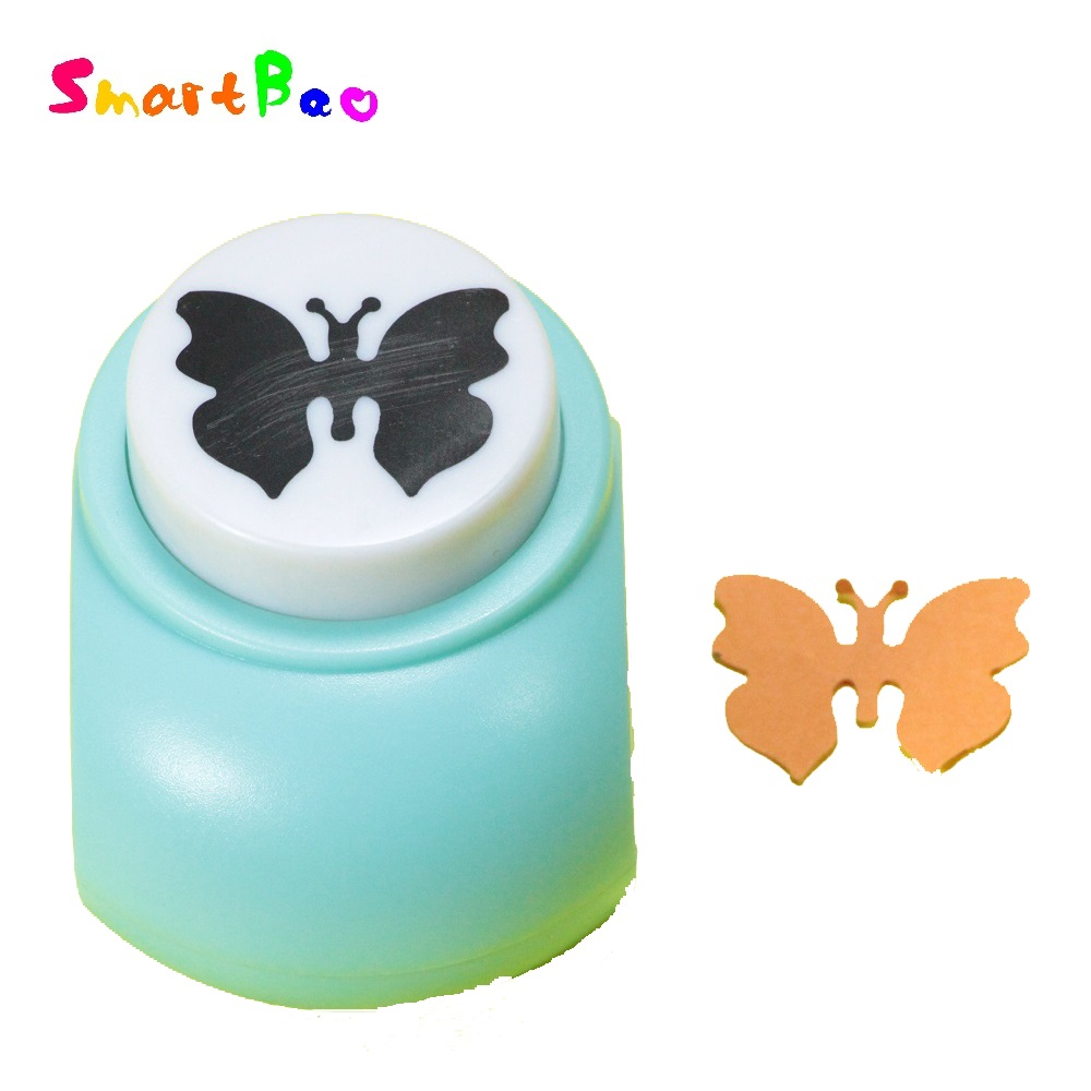 3.5*2.5cm Butterfly Scrapbooking Punch Outs Scrapbook Cutter Handmade Toy Embossed Machine Print Furadores Artesanais NO.JF-828