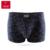 Nueva europeo extra grande tamaño de los hombres del boxeador shorts sexy mens underwear l ~ 5xl 4 unids/lote de marca de algodón regalo perfecto envío gratis