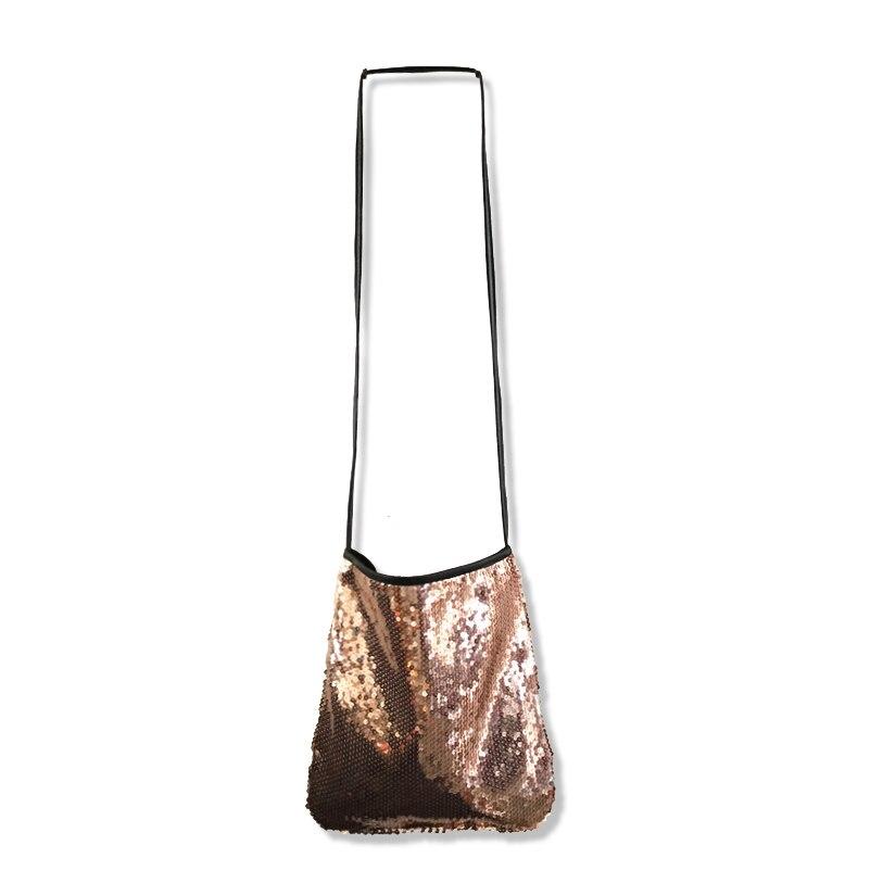 estelle Wang Glitter Sequins Messenger Bags Single Women Patchwork Evening  Shoulder Bags Hasp Pocket Versatile Clutch Handbag-in Top-Handle Bags from  ... 2d6a1d4bed5f