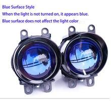 Nova lente do projetor bixenon nevoeiro lâmpada de condução luz com hid d2h à prova d2água para toyota corolla/camry/highlander/prius/rav4