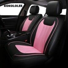 KOKOLOLEE искусственная кожа сиденья для Honda CRV все модели XRV Odyssey Джаз город crosstour S1 CRIDER VEZEL соглашения Тюнинг автомобилей