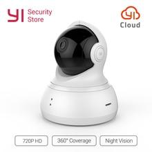 YI купол Камера панорамирования/наклона/зум Беспроводной ip-видеонаблюдения Системы HD 720P Ночное видение (версия США/ЕС) YI облако доступны
