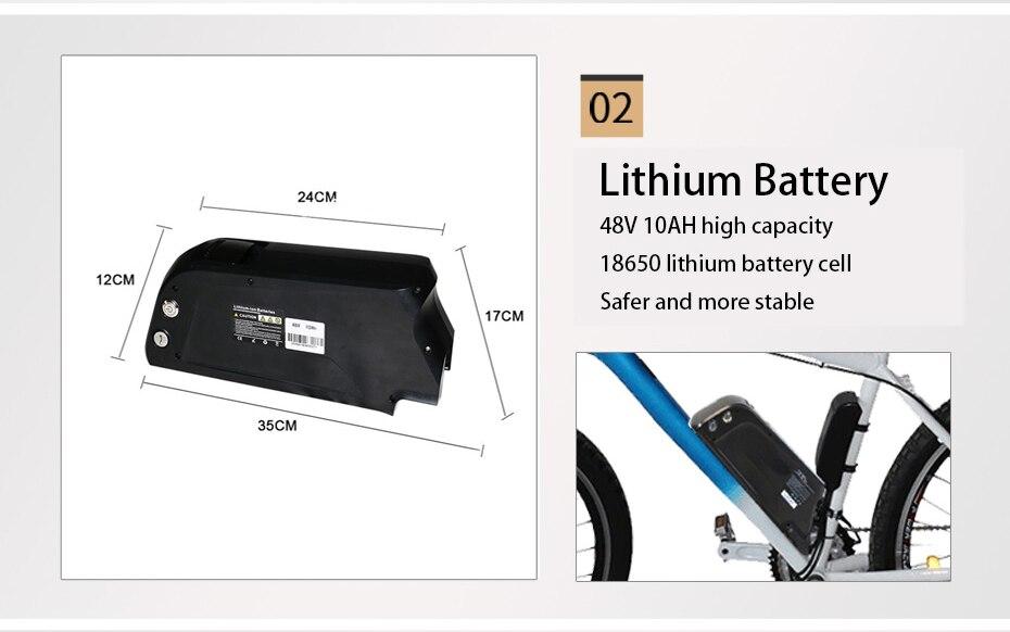 "HTB1dQTebxTpK1RjSZR0q6zEwXXaY - 48V Lithium Battery Electric Bike Kit 350w 500w Hub Motor Wheel for 26"" 700C  MTB Bike Road Bicycles E Bike Conversion Kit"