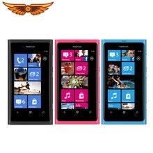 Unlocked Nokia Lumia 800 Windows 7.5 Mobiele Telefoons 16Gb Rom 3G Gps Wifi 3.7 Inch 8MP Camera Smart telefoon In Voorraad Gratis Verzending