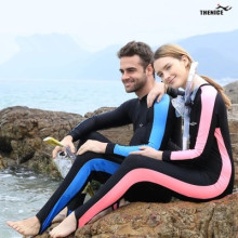 Neoprene Scuba Diving Suit Rash Guard Wetsuit For Snorkeling Surfing Spearfishing Swimming Suit One-Piece Long Sleeve Swimwear