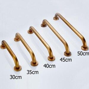 Bad Haltegriff 30 cm/35c/40 cm/45 cm/50 cm Kupfer Antike Bronze Fertig sicher Haltegriff Wc für ältere