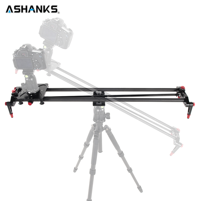 ASHANKS Photography Carbon Camera Slider Follow Focus Pan Motorized Electric Control Delay Dolly Slide Track Rail for Timelapse ashanks small photography studio kit