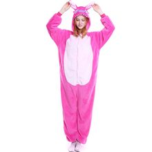 Фланелевые зимние стежки пижамы для женщин взрослых Onesie животных цельный  Стич Домашняя одежда пижамы для женщин c9ea53381f997