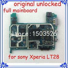 100% original full function motherboard for Sony Xperia LT28 good main board with software logic system board
