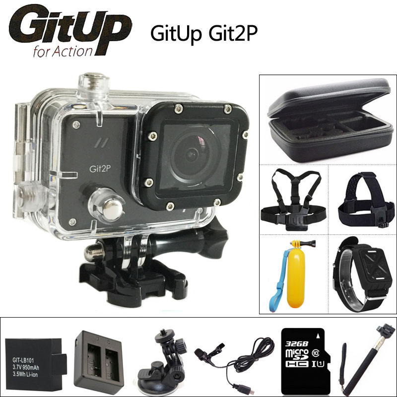 Gitup git2 p acción cámara 2 k wifi dv deportes pro completo HD 1080 P 30 m Impe