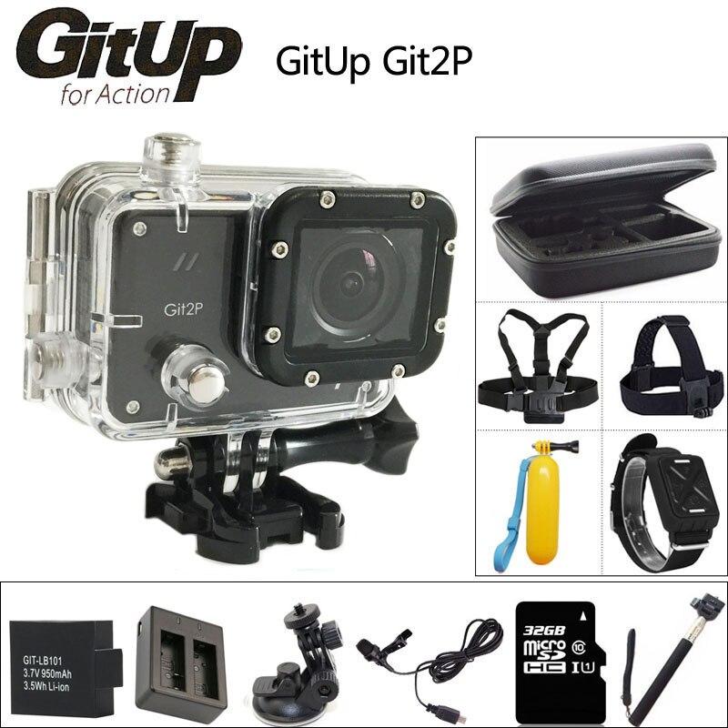 Original GitUP Git2 P Sports Action Camera 2K Wifi Full HD 1080P 30M Waterproof Camcorder 1
