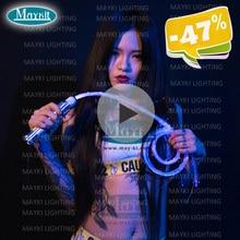 Maykit светодиодный мигающий волоконно-оптический светильник многоцветный палочка волоконно-оптический хлыст сенсорные с помощью подарков тип и вечерние украшения Weddin