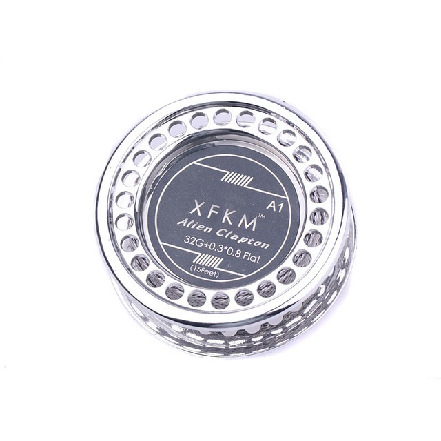 XFKM NI80/A1/316 5m/roll Alien fused Clapton for RDA RBA Rebuildable Atomizer Heating Wires Coil Tool Alien Clapton Heating Wire 3