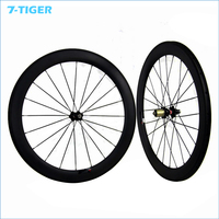 chinese carbon fiber fixieporn bike single speed 700c 23 mm Width 60mm track bicycle tubular Wheelset fixed gear light wheels