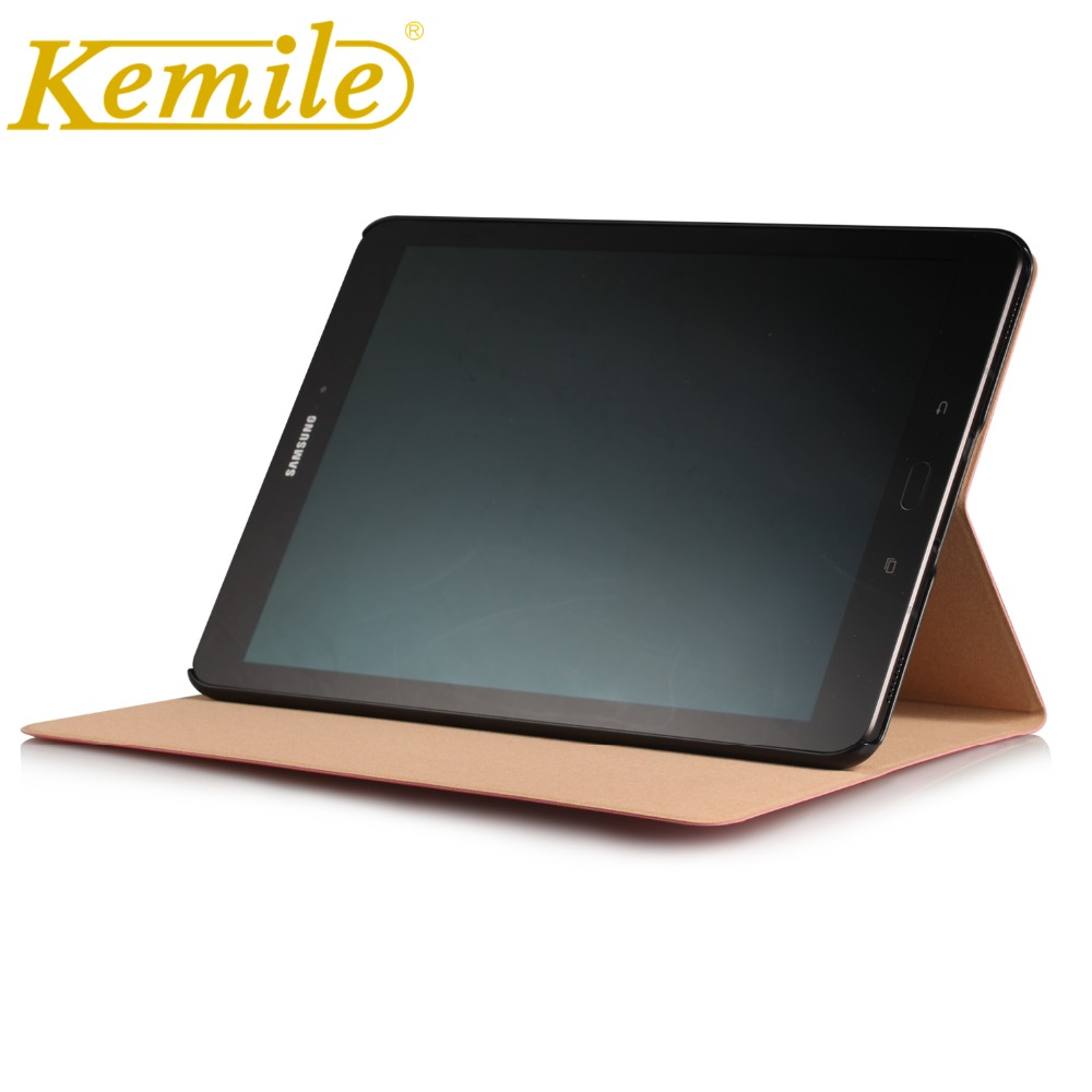Kemile For Sansung Tab S3 9.7 T820 T825 Case Auto Sleep Wake Up Stand Leather Cover For Sansung Galaxy Tab S3 9.7 T820 T825 Case