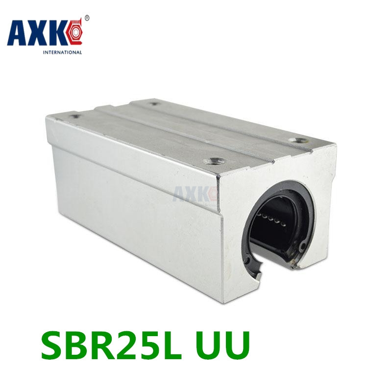 Axk Sbr25luu / Sme25luu Sbr25 Luu 25mm Shaft Linear Sbr Cnc Kit Linear Ball Bearing / Linear Guide Bearings 10pcs lot srd 5vdc sl c srd 5vdc srd 05v songle power relay dip 4 100