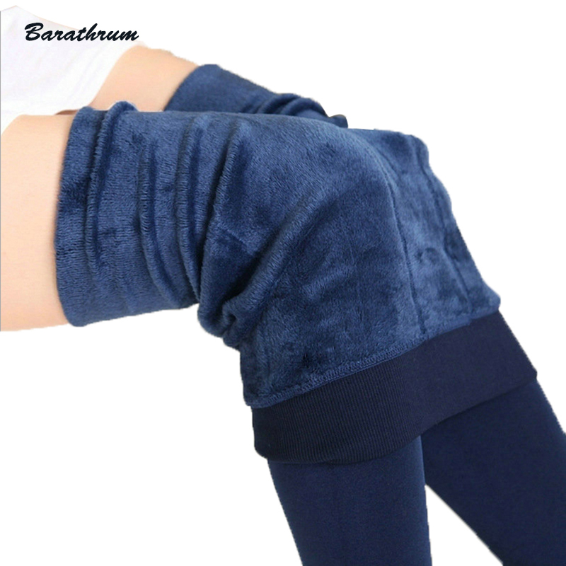 S-XL új divat Női őszi téli nagy rugalmasság és jó minőségű nadrágos vastag bársony nadrág meleg lábbeli