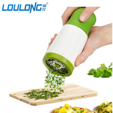 LOULONG Brand Vegetable Chopper Multifunctional Manual Vegetable Spiral Slicer Clever Cutter Kitchen Tools Graters FT015(China)