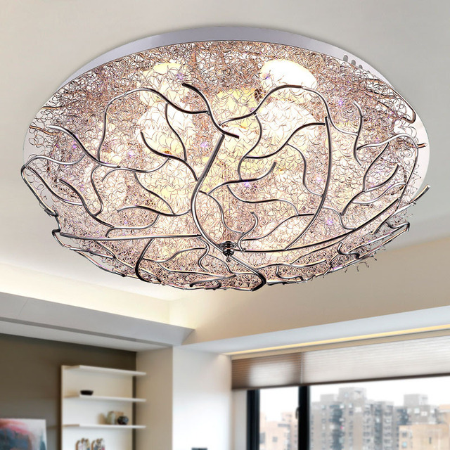 Aliexpress.com : Buy Modern Aluminum Nest LED Living Room Ceiling ...