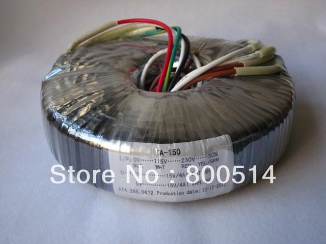 120 W Toroidal transformador de Entrada: 0-115V-230V Saída: 15 V + 15 V