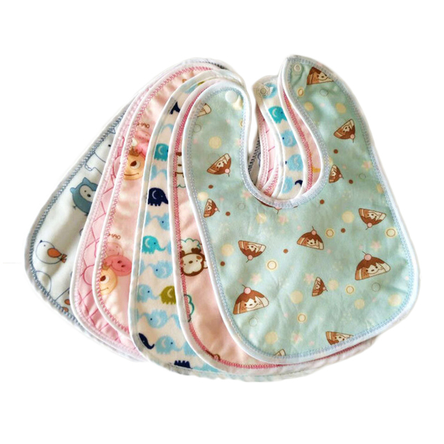 3pcs/lot Toddler Baby Bibs Infant Feeding Clothes Baby Boys Girls Waterproof Feeding Clothes BB095 Newborn Clothing Accessories