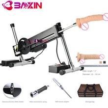 Baxin custom made OEM ODM BXSA3 diy stak fuck maschine sex machine gun Promotie Suite voor vrouwen