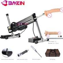 Baxin tự làm OEM ODM BXSA3 DIY đâm Fuck maschine Giới tính súng máy Khuyến Mại Bộ dành cho nữ