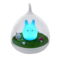 Rechargeable Totoro LED Night Lights Intelligent Touch Sensor Kids Lamp By ChenFec