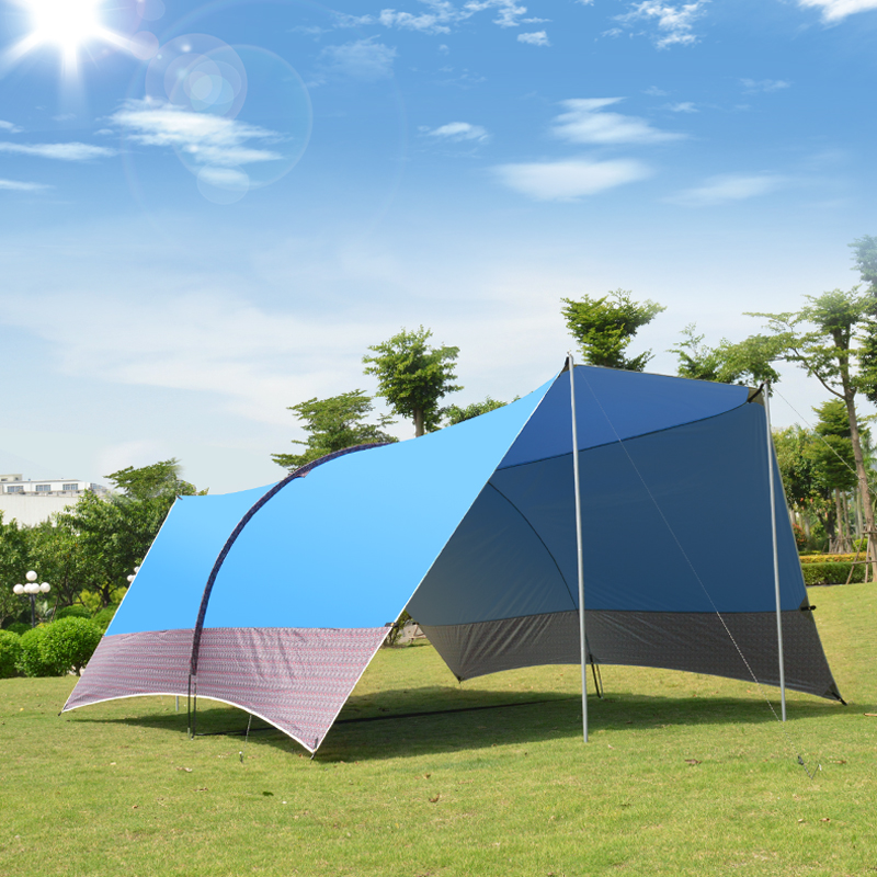 Outdoor Camping Use Ultralarge 5-8 Person Waterproof Anti-UV Sun Shelter Camping Tent Large Gazebo Beach Tent Large AwningOutdoor Camping Use Ultralarge 5-8 Person Waterproof Anti-UV Sun Shelter Camping Tent Large Gazebo Beach Tent Large Awning