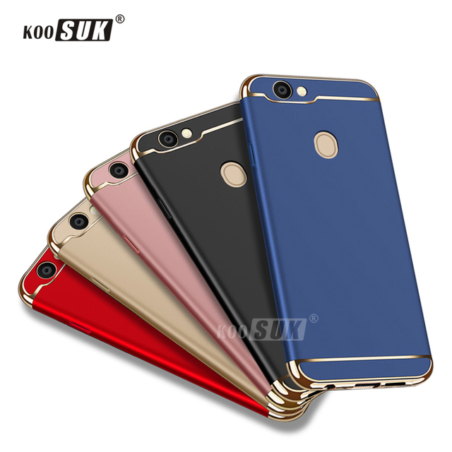 info for e8f45 8b08a US $3.79 24% OFF|OPPO F5 Phone Case For OPPO F 5 A73 A73T 6.0'' Back Cover  Coque Luxury Original Gold Plated Stitching Hard Protect Shell Fundas-in ...