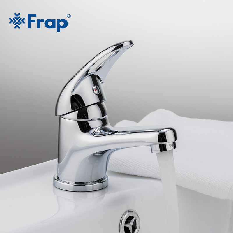 Frap Classic Style Basin Faucet Deck Mounted Cold And Hot Water Mixer Single Handle Torneira F1003