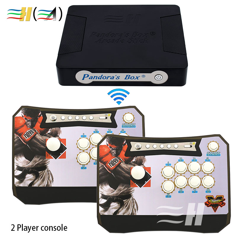 Pandora's Box 4S+ Wilress Arcade Stick to PC PS3 XBOX360 Game Pandora Box 4S+ Arcade Joystick Fight Game Panel Arcade Controller зарядное устройство для xbox xbox360 x360 pc