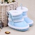 Caliente Wubter botas zapatos de bebé niña niño de piel falsa gruesa chaussure enfant botas para la nieve bebé