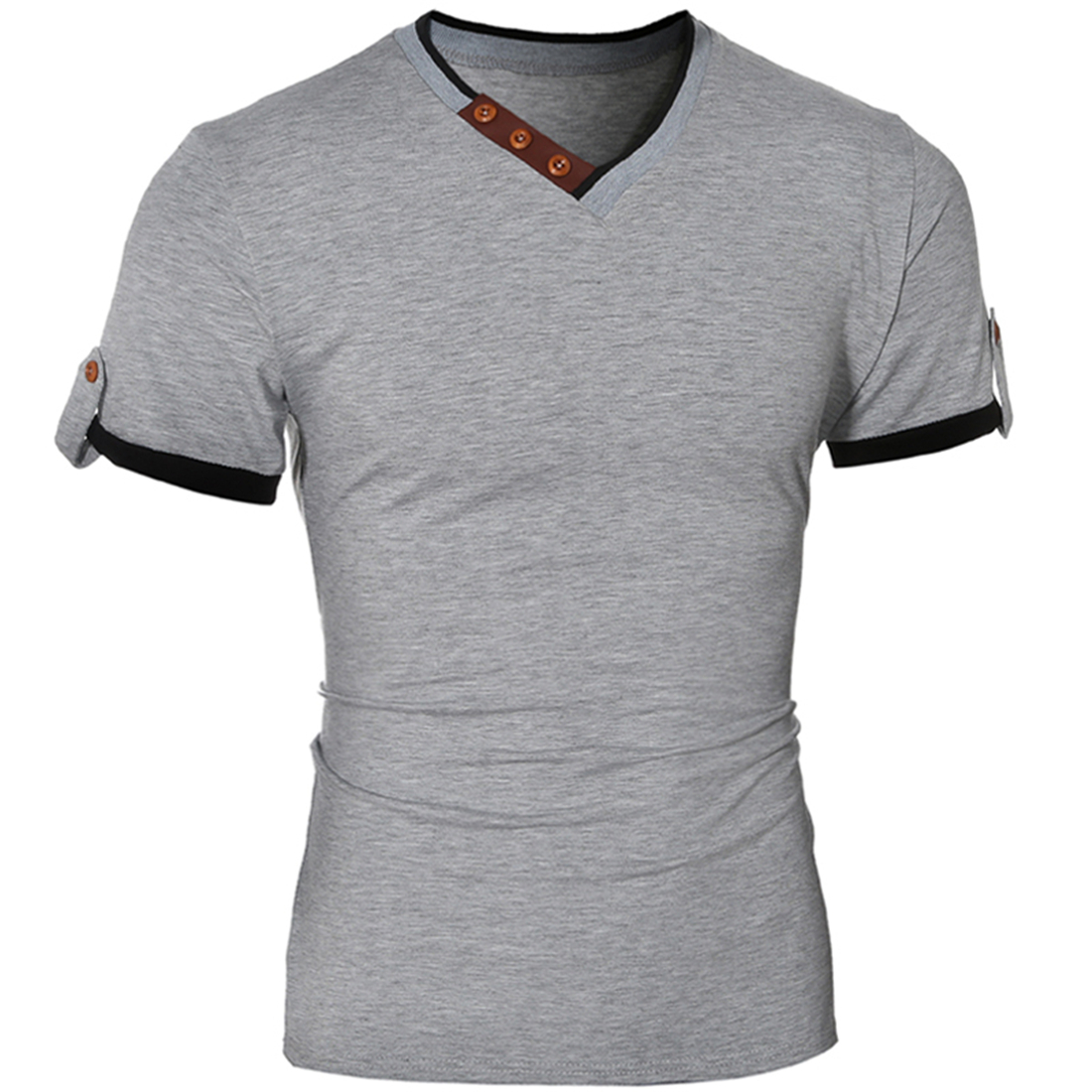 Compare Prices on Button up T Shirt- Online Shopping/Buy Low Price ...