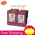 At a loss Remanufactured For HP 650 Ink Cartridges for HP650  Deskjet 1015 1515 2515 2545 2645 3515 4645 Free Delivery Sale