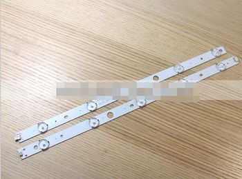 1 Pair x 40 inch DLED40GK4X10 Original LED Strips w/ Optical Lens Fliter TV Panel Backlight Lamps Total 10 Beads 822mm