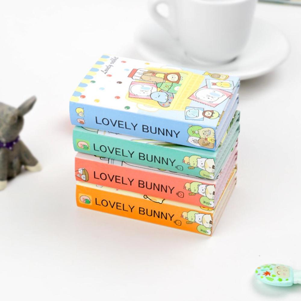 The Best Sumikko Gurashi 6 Folding Memo Pad Sticky Notes Memo Notepad Bookmark Gift Stationery