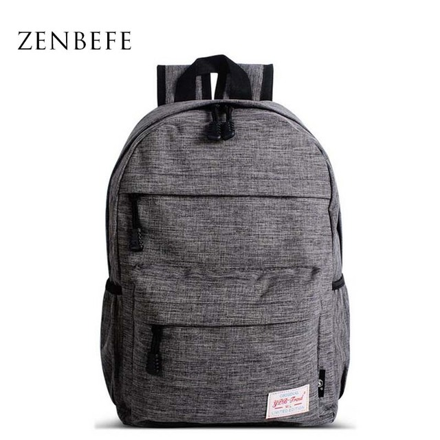 e45a24b9f1 ZENBEFE Small Backpack For Boys Quality School Bag For Boy Teenager Primary  School Students Bookbag Child