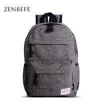 ZENBEFE Small Backpack For Children Durable School Bag For Teenager Junior High School Students Backpack Bookbag