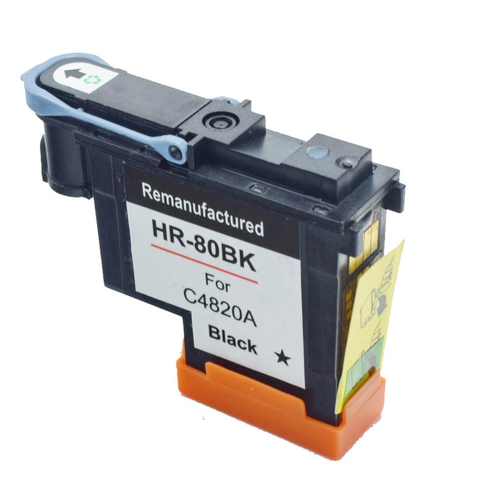 CK Compatible 1BK black C4820A printhead for HP80 Designjet 1050c 1055 Ink Cartridge print Head for hp 80 цена