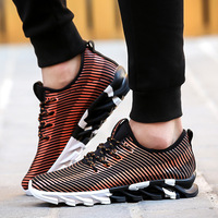 Leisure Mixed Colors Flat   Vulcanize     Shoes   for Men Air Mesh Shallow   Shoes   Lace-Up Spring Autumm Fashion Boys Students Sneakers