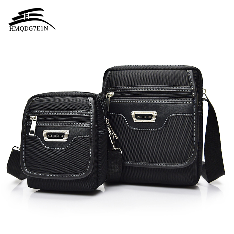 2018 New Fashion Korean Men's Business Messenage Bags Oxford Small Handbags Male Black Crossbody Shoulder Bag Wholesale Blosa