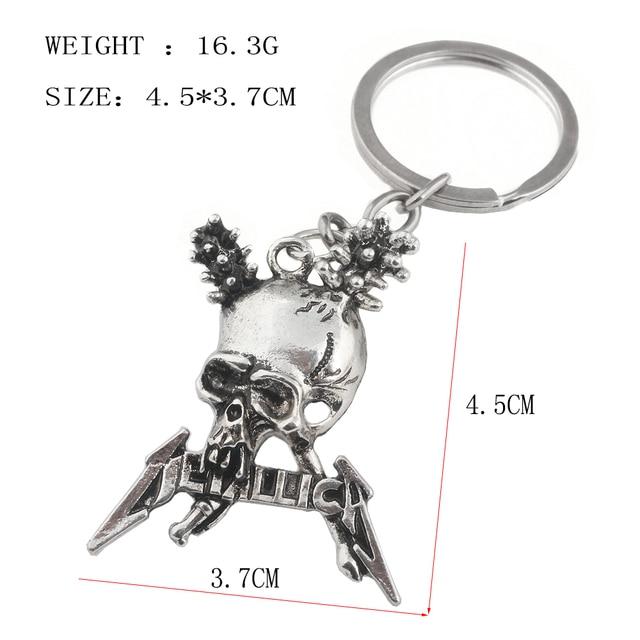 Metallica Skull Pendant / Necklace 1