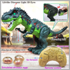 New Large Remote control Electric Walking Dinosaur Toys Kids Walk Animals Model Toys with Light Spray for Children Recognization discount
