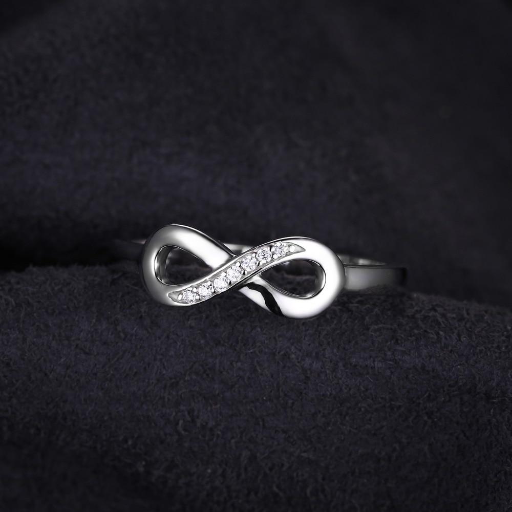 Jewelrypalace infinity selamanya cinta cubic zirconia anniversary - Perhiasan fashion - Foto 2